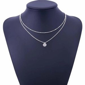 Jewelry - 🌟Silver Double Layer Necklace🌟
